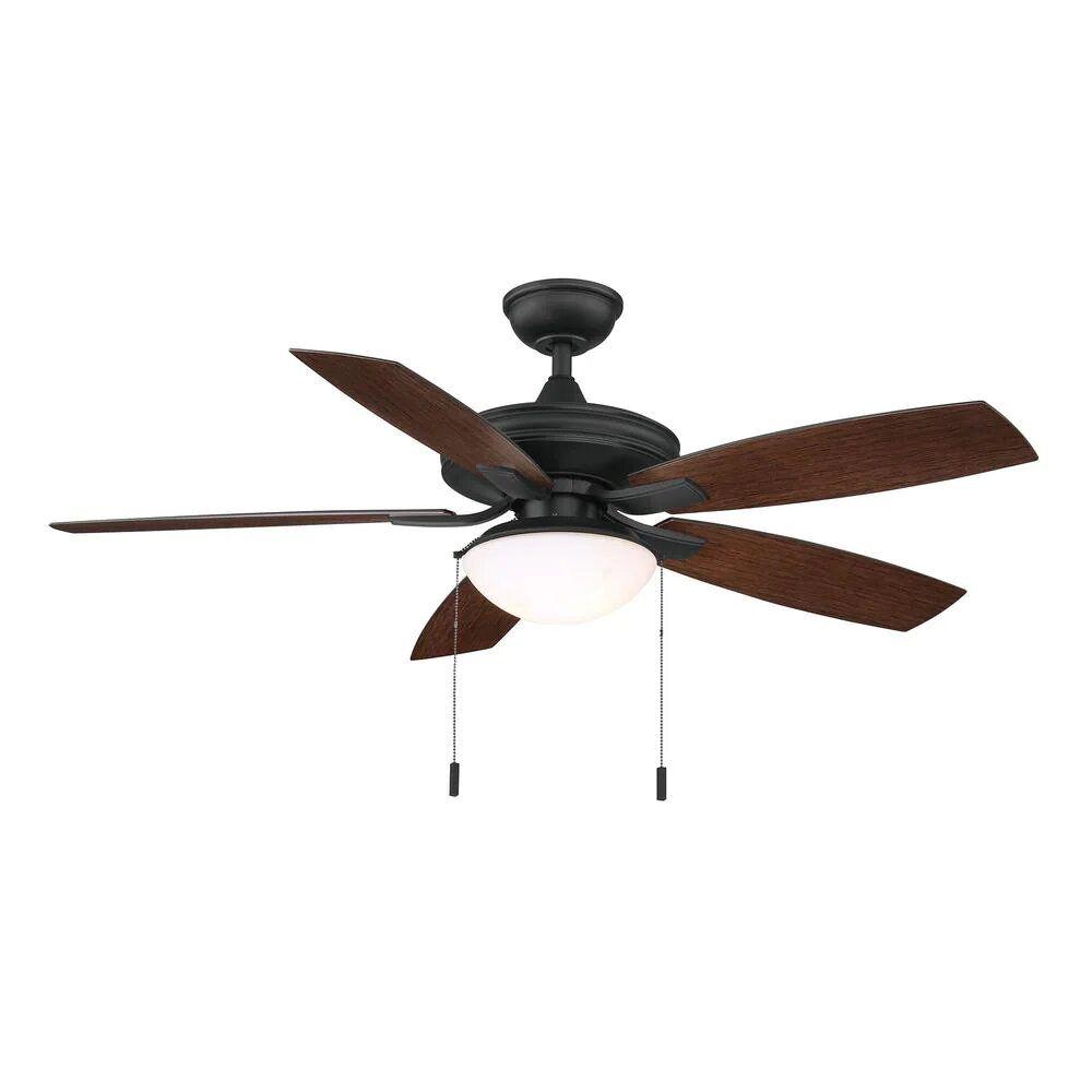 Hampton Bay Gazebo III 52 in. Indoor/Outdoor Natural Iron Ceiling Fan