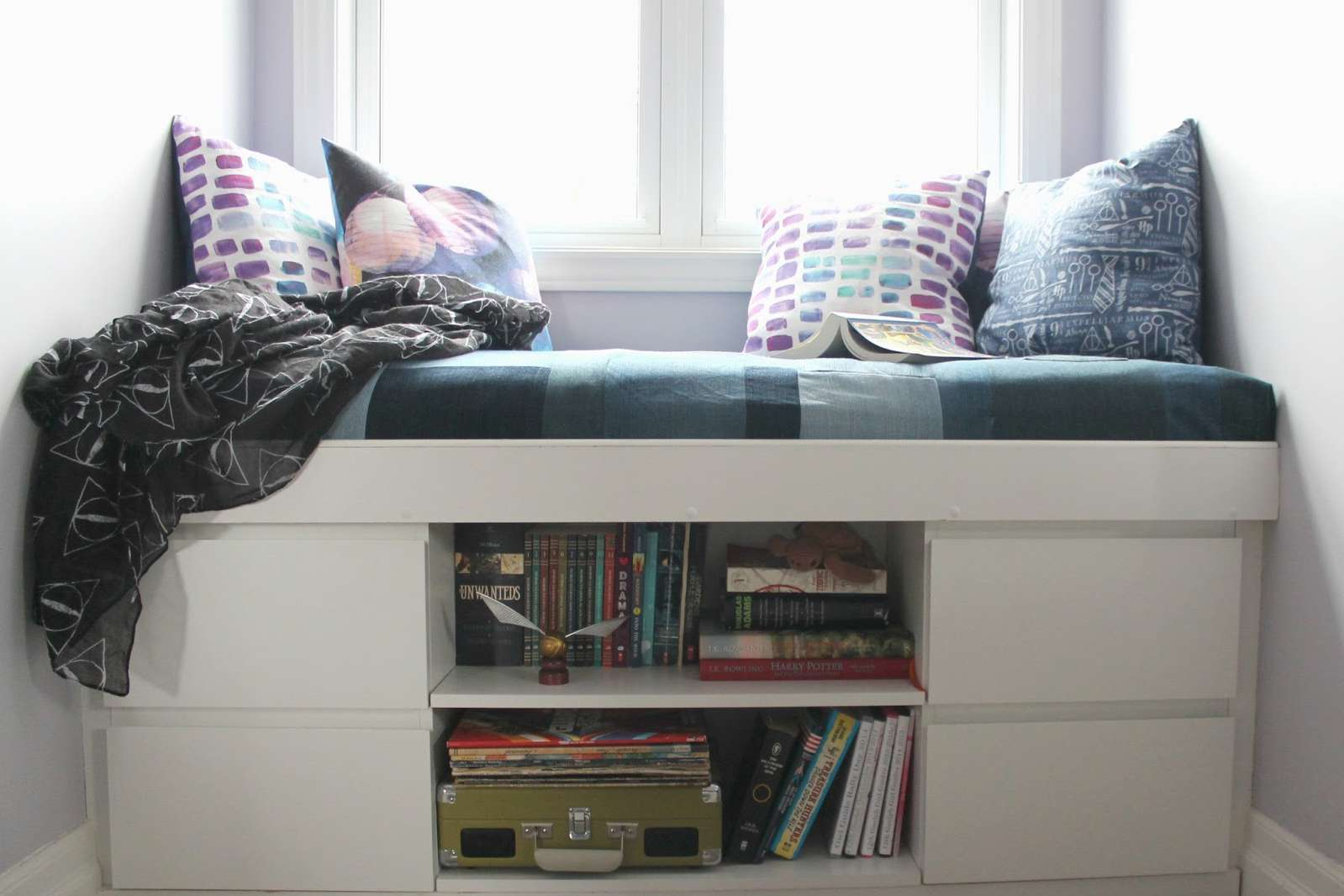 IKEA window seat hack