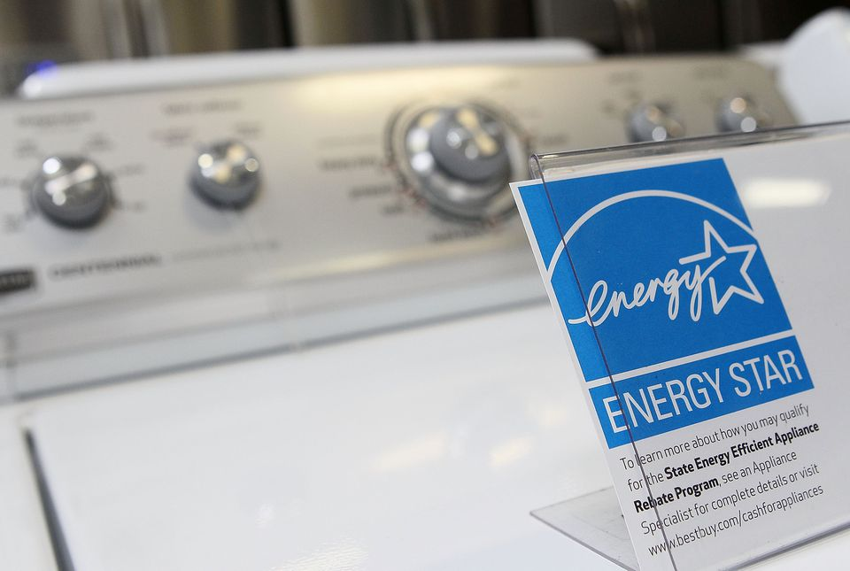 Energy Star info on washing machine
