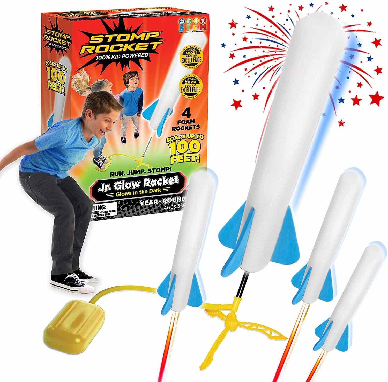 Stomp Rocket The Original Jr. Glow Rocket Launcher