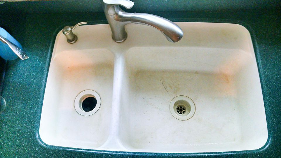 solid surface kitchen sink restoring your solid surface sink 5604