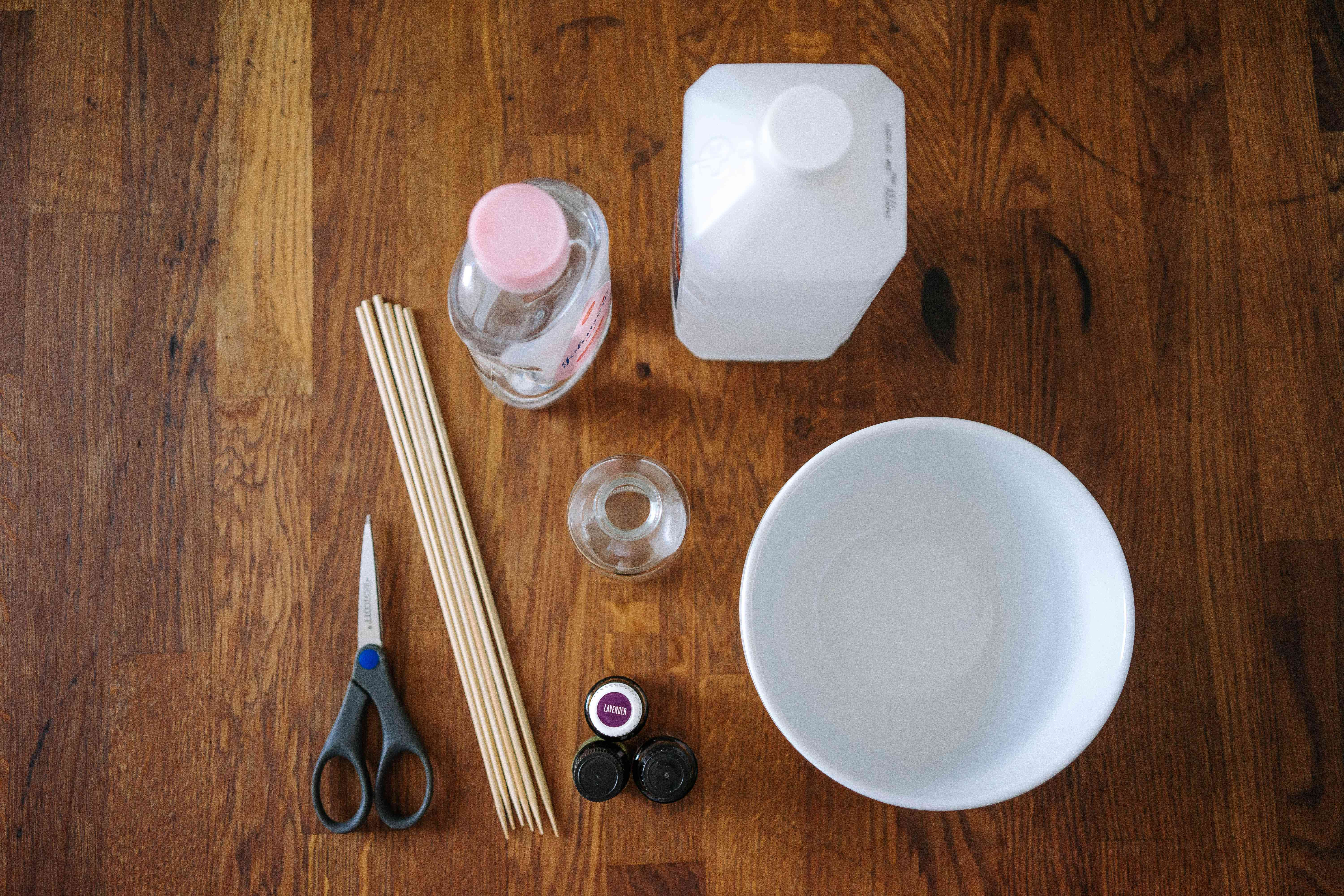 materials for making a room diffuser
