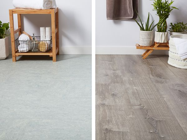 Vinyl Flooring, Allure Flooring Over Tile