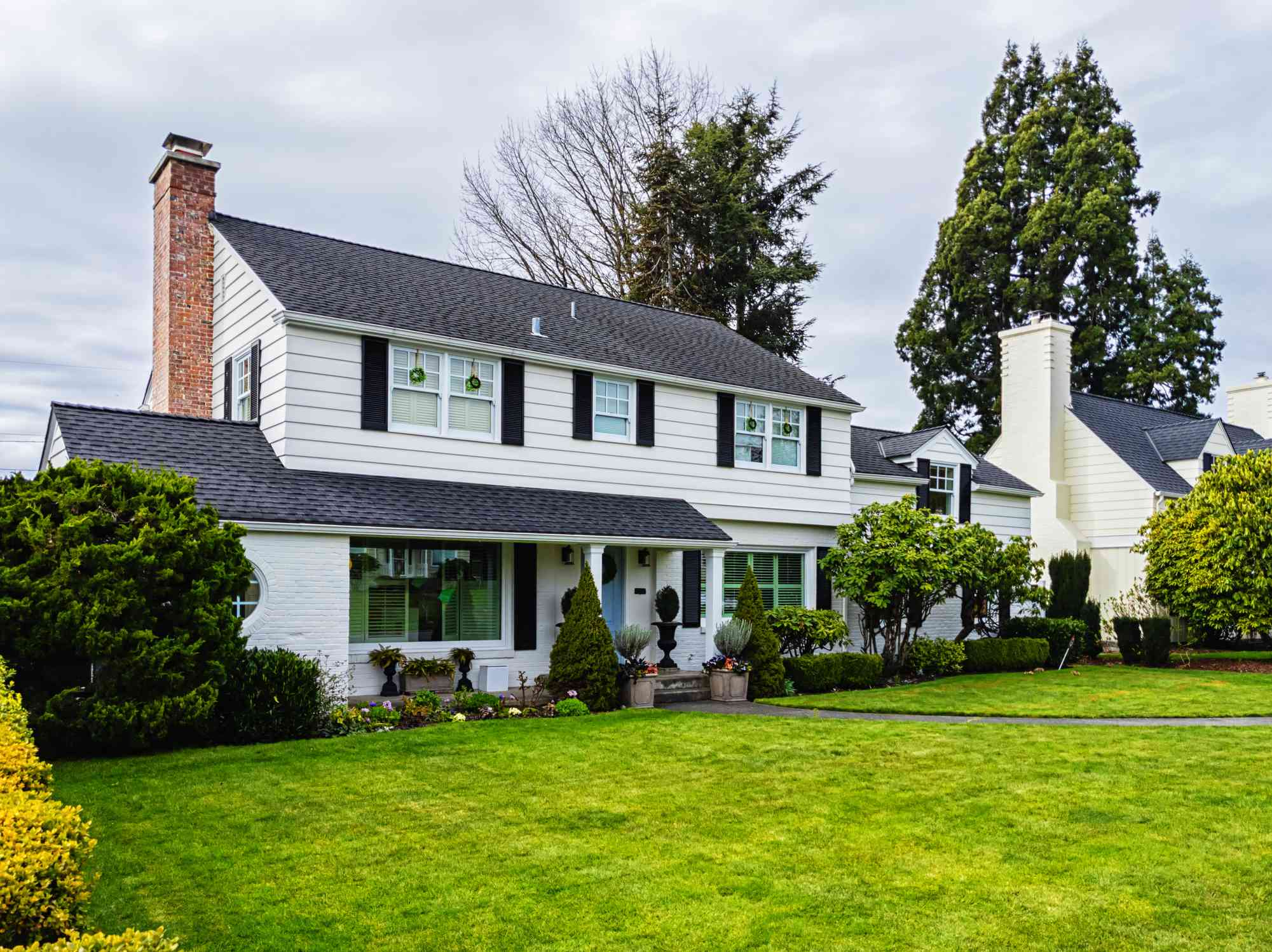 American Colonial-style home