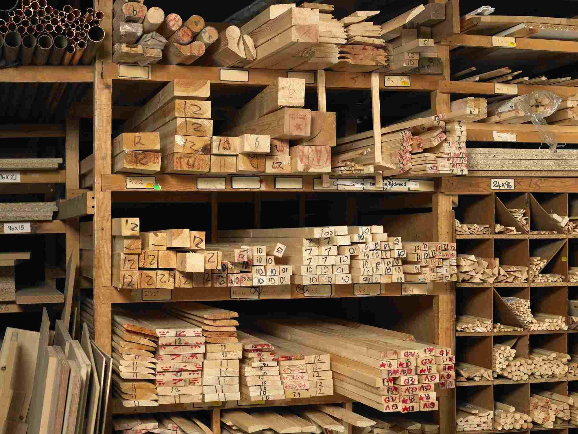 Rack of Wood