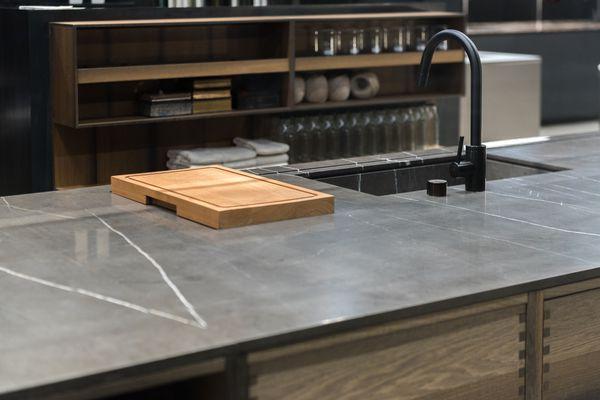 Soapstone counter