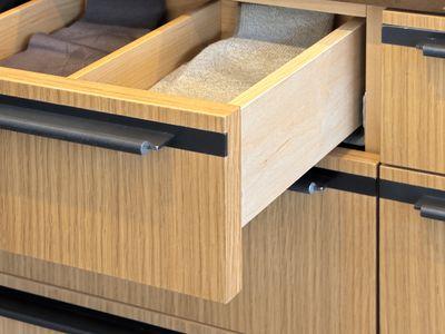 Bamboo drawers