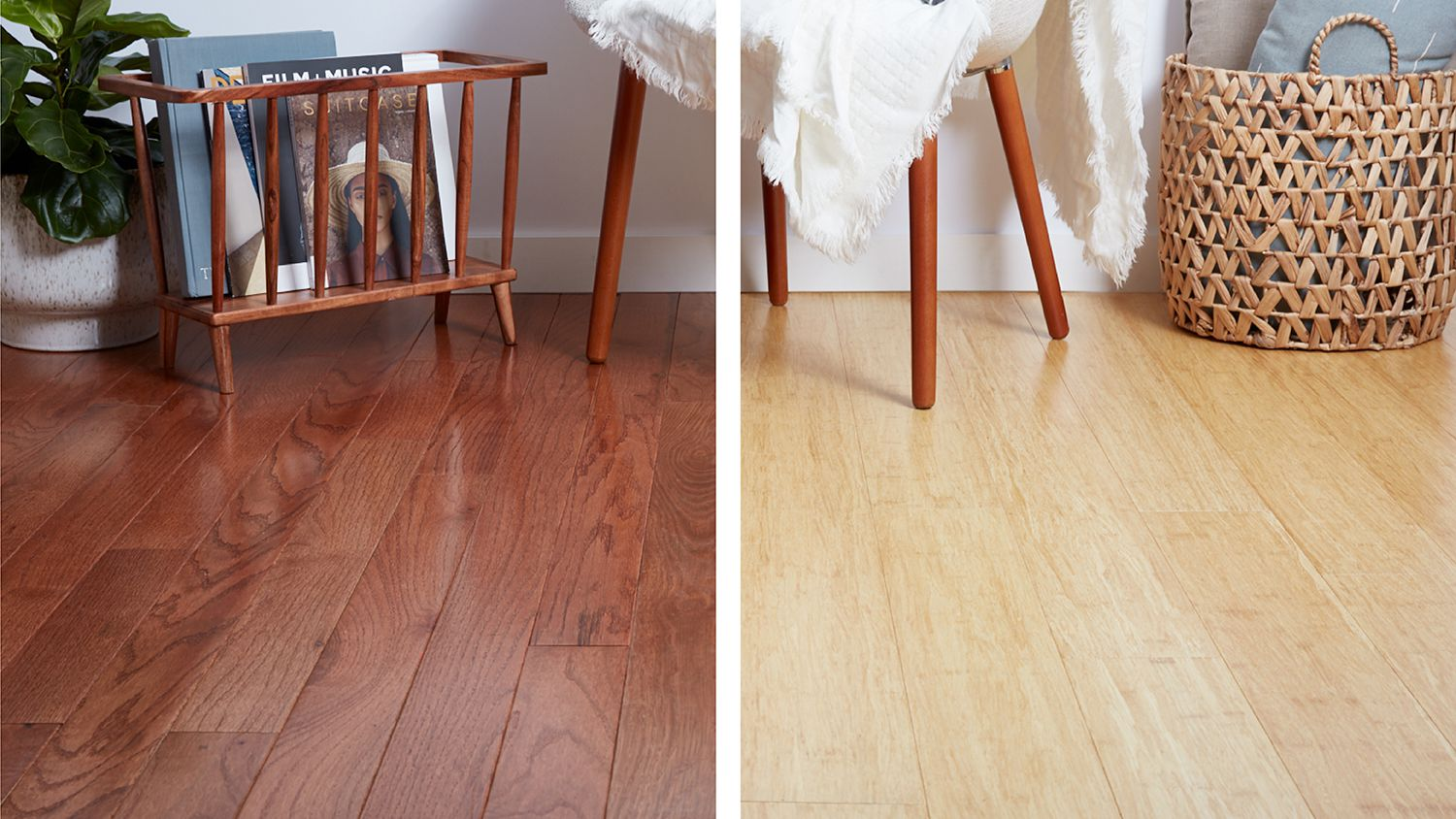 A Side By Side Comparison: Bamboo and Wood Flooring