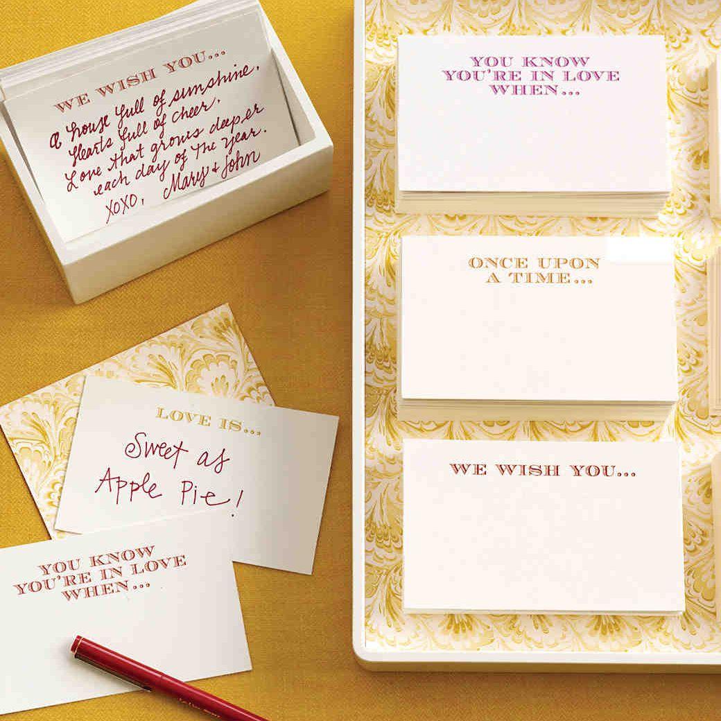 Conversation Starter Wedding Guest Book