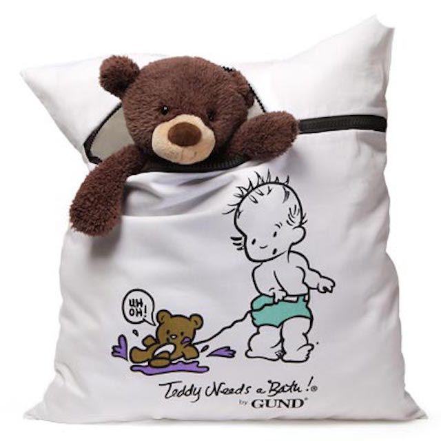 A Teddy Needs a Bath by Gund