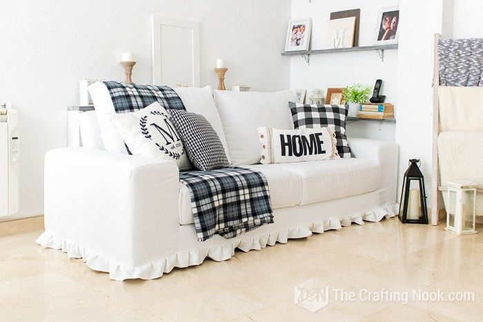 20 Diy Couch Cover Ideas For Any Budget, Slip Cover Sofas