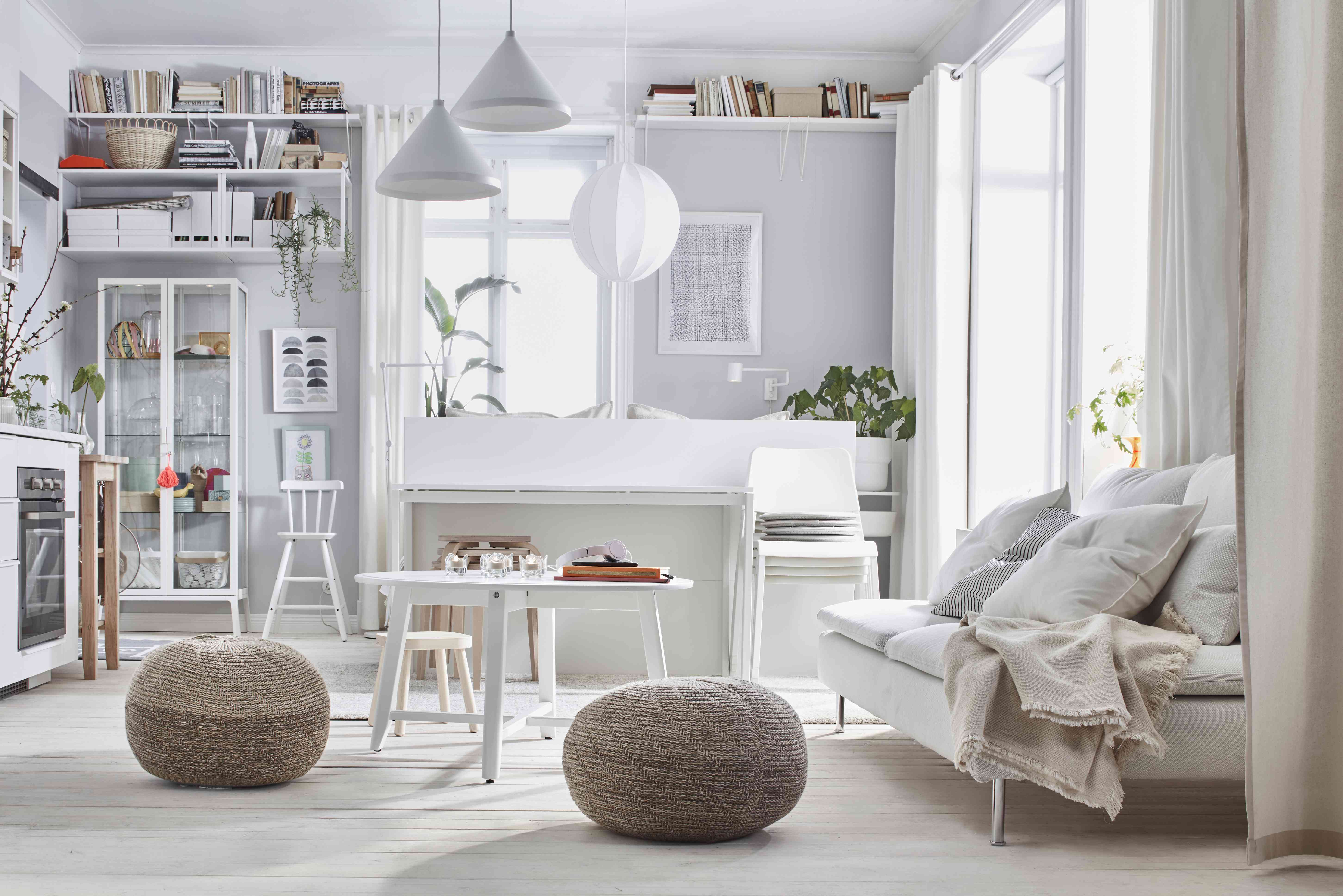 cozy ikea living room