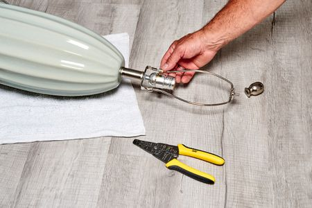 How To Rewire A Lamp, Rewire A Lamp