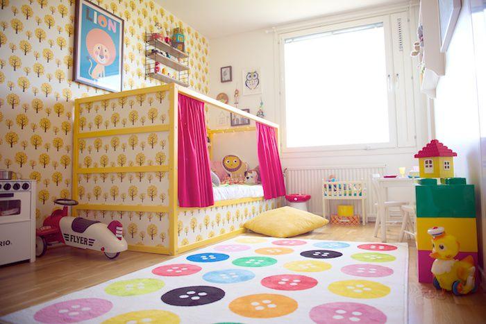 IKEA KURA Hack: Faux Bed Cubby
