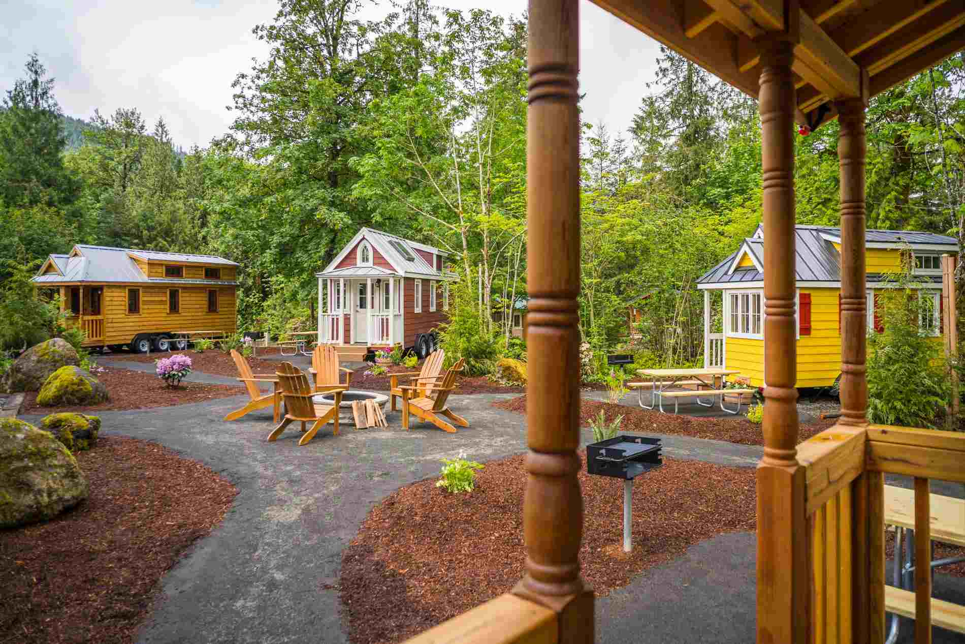 Mount Hood Tiny House Village