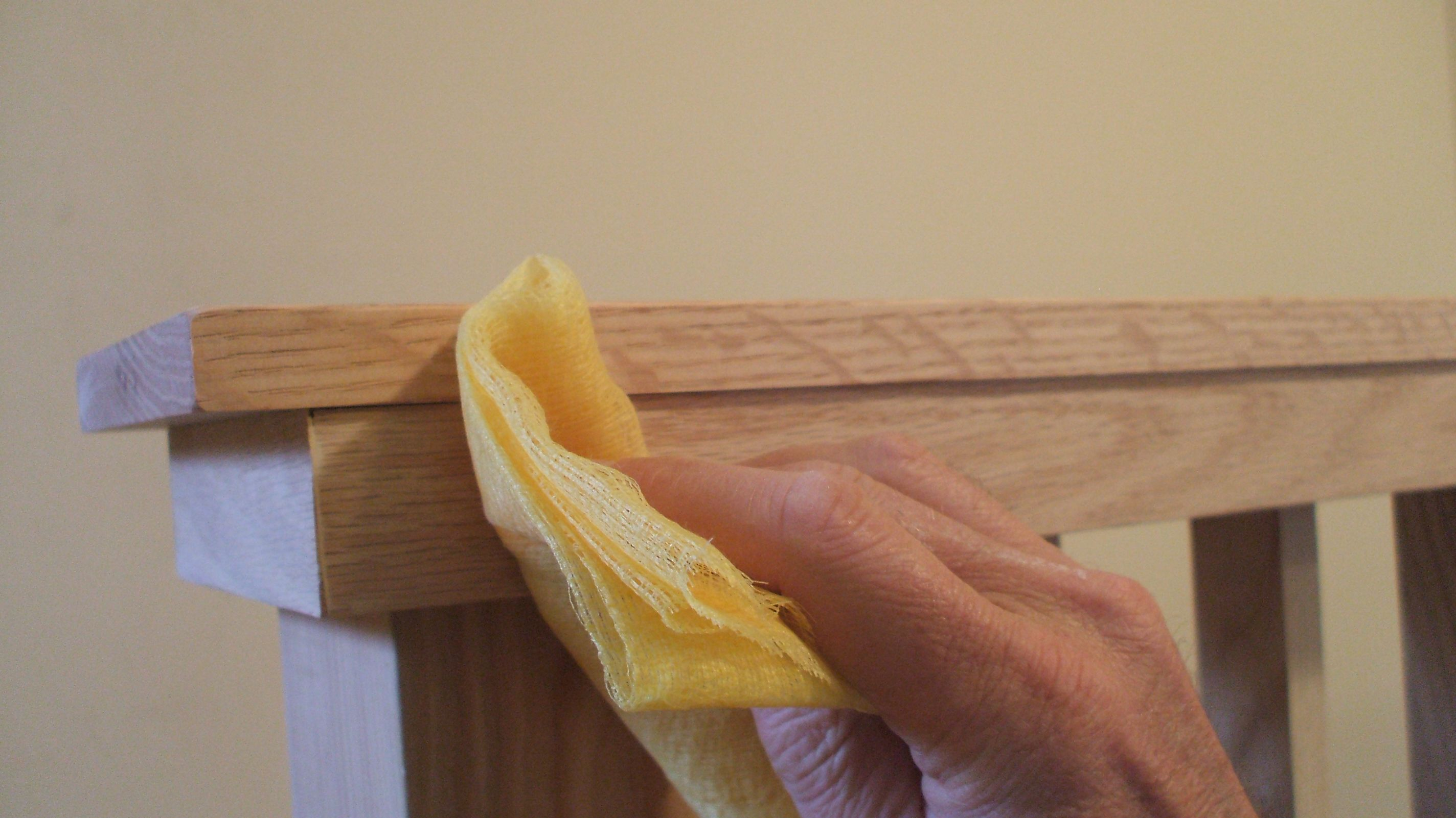 How to Use a Tack Cloth to Clean a Surface