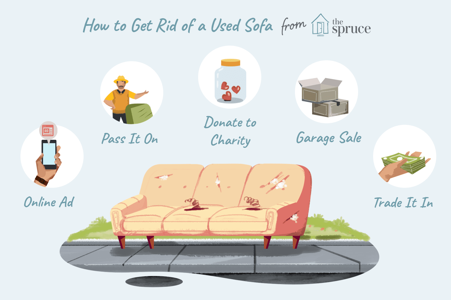 Get Rid Of Old Sofa