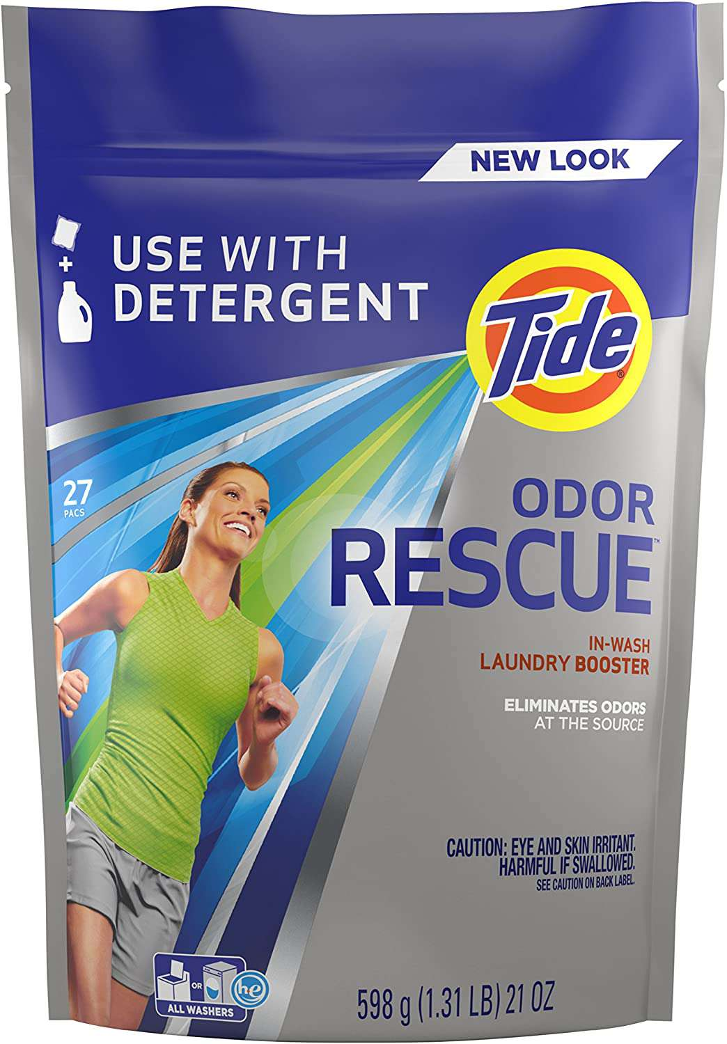 Tide Odor Rescue In-Wash Laundry Booster Pacs