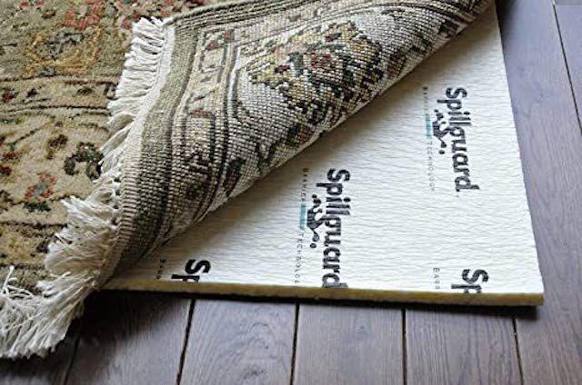 Carpenter Visco-Elastic Memory Foam Rug Pad with Spillguard DuPont Barrier