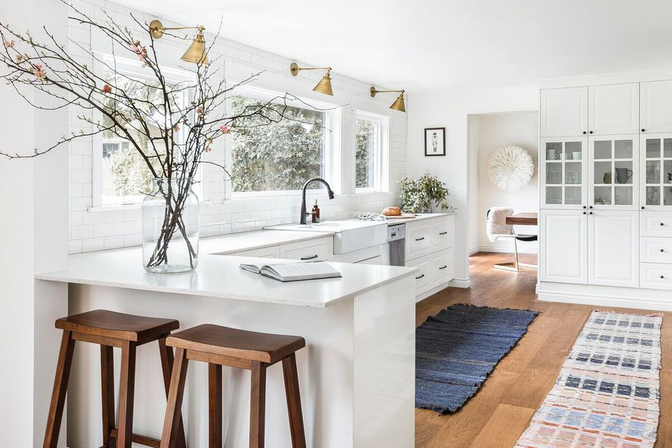 A Scandi-inspired kitchen