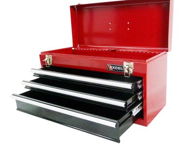 Excel TB133A-Red 21-Inch Portable Steel