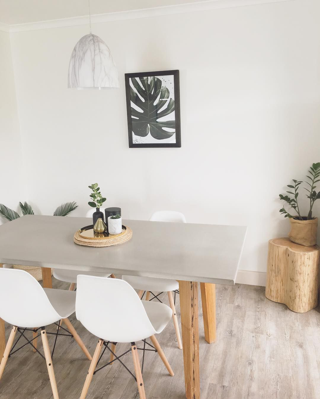 Ways To Decorate With Concrete Accents - Concrete dining table maintenance