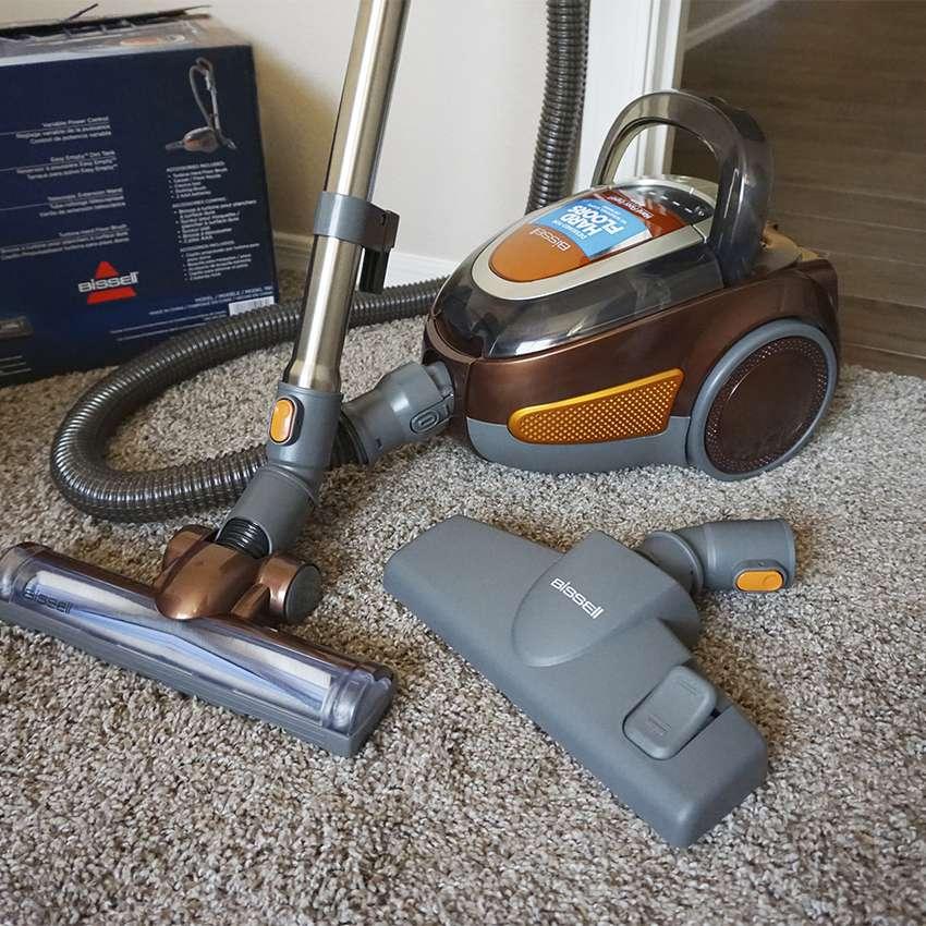 Bissell Hard Floor Expert Deluxe Canister Vacuum