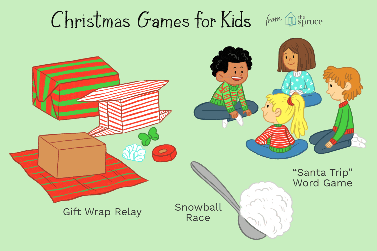 Our Favorite Christmas Games for Kids