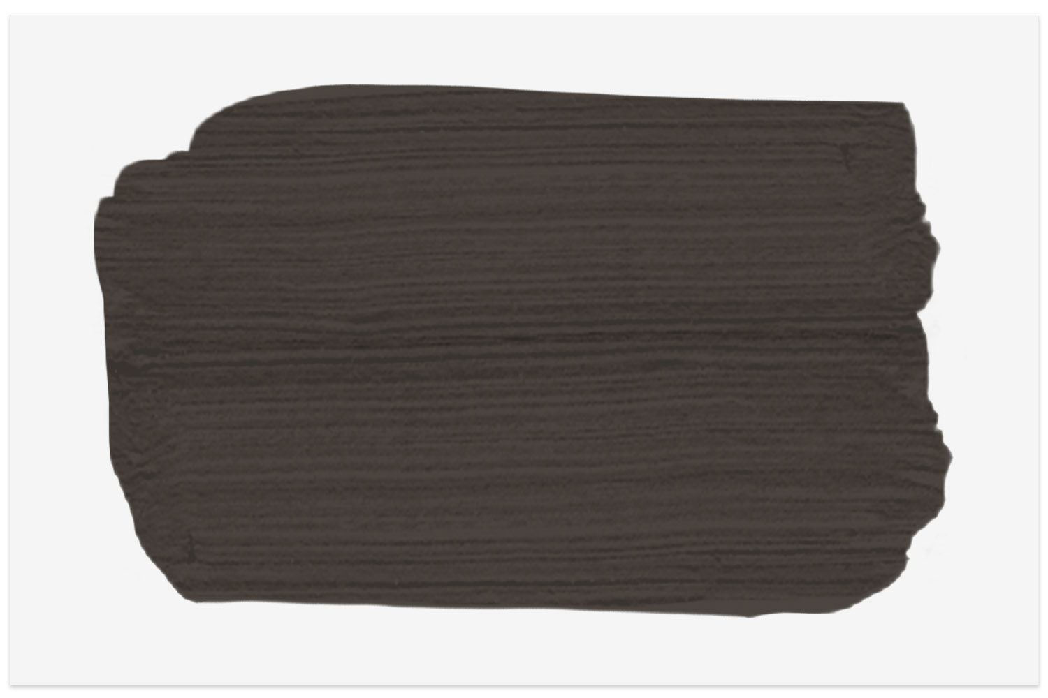 Espresso Beans paint swatch from Behr