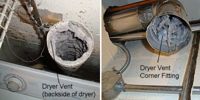 Disconnect The Dryer Duct