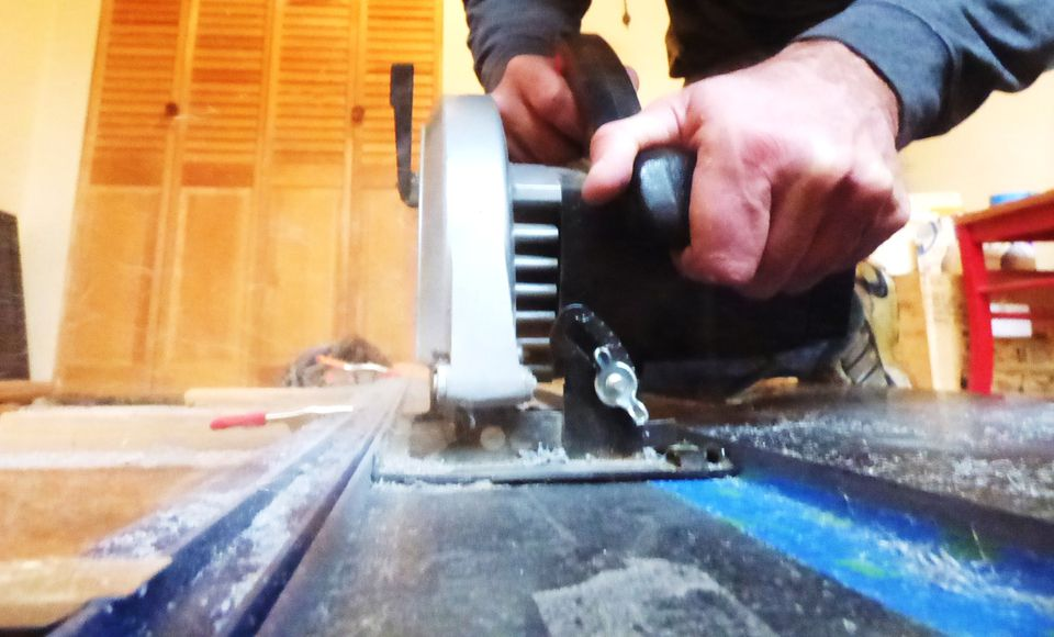 Cutting Corian With Circular Saw