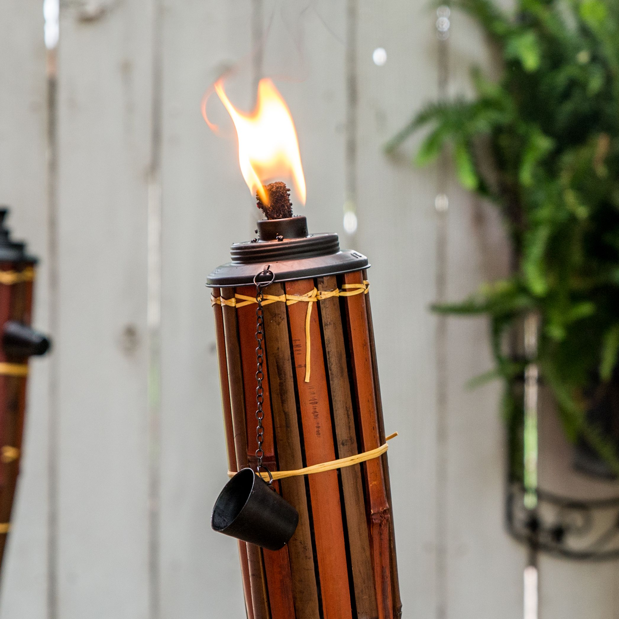 How To Use Tiki Torches Light Up The