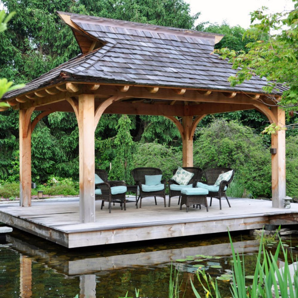 26 Gorgeous Gazebo Design Ideas