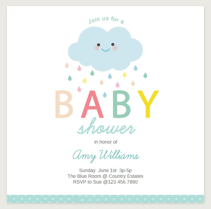 2437a15d9b39 19 Sets of Free Baby Shower Invitations You Can Print