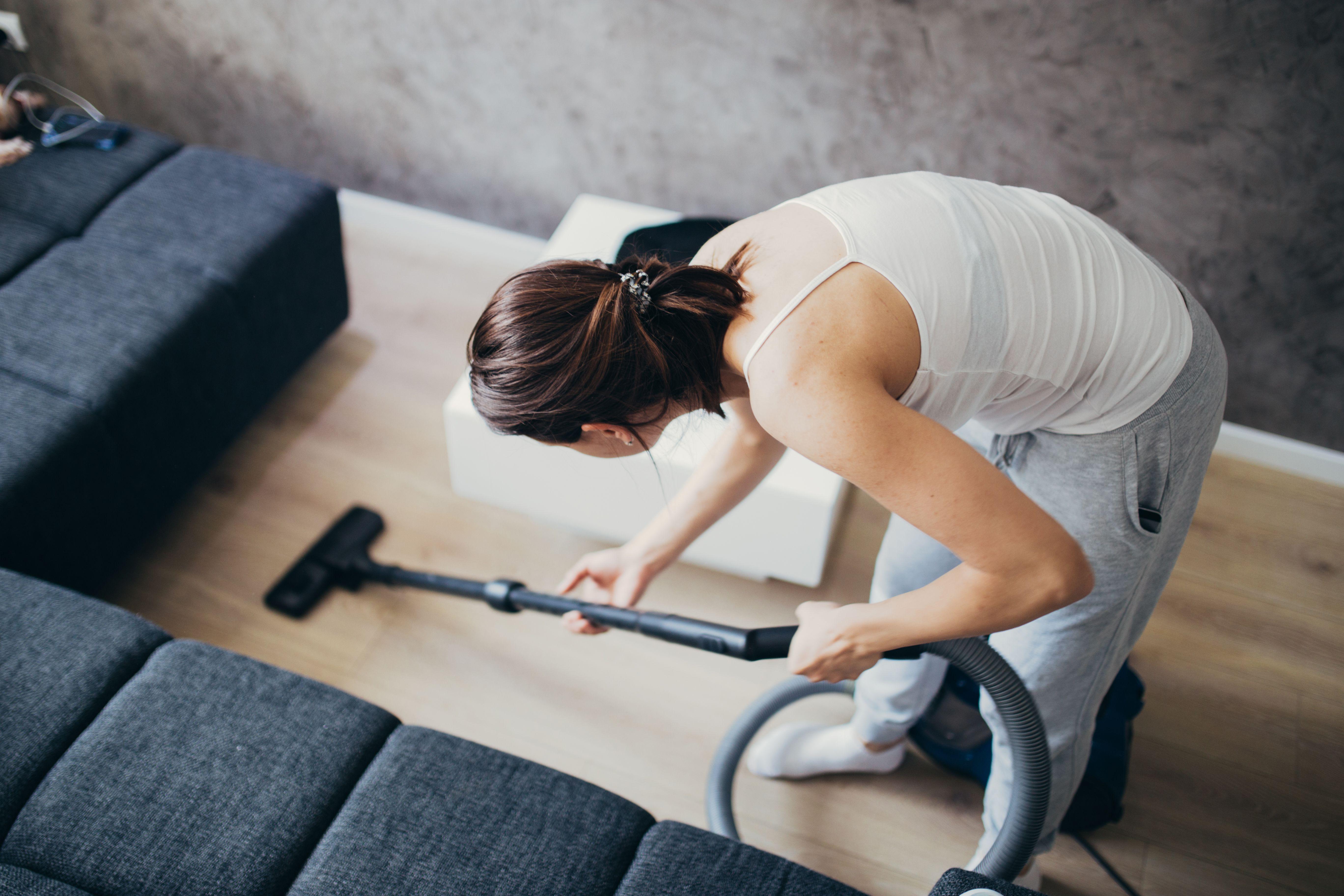 Clean Under Furniture