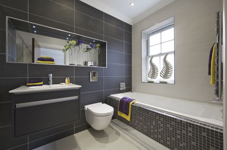 Creative Ideas For Bathroom Backsplashes