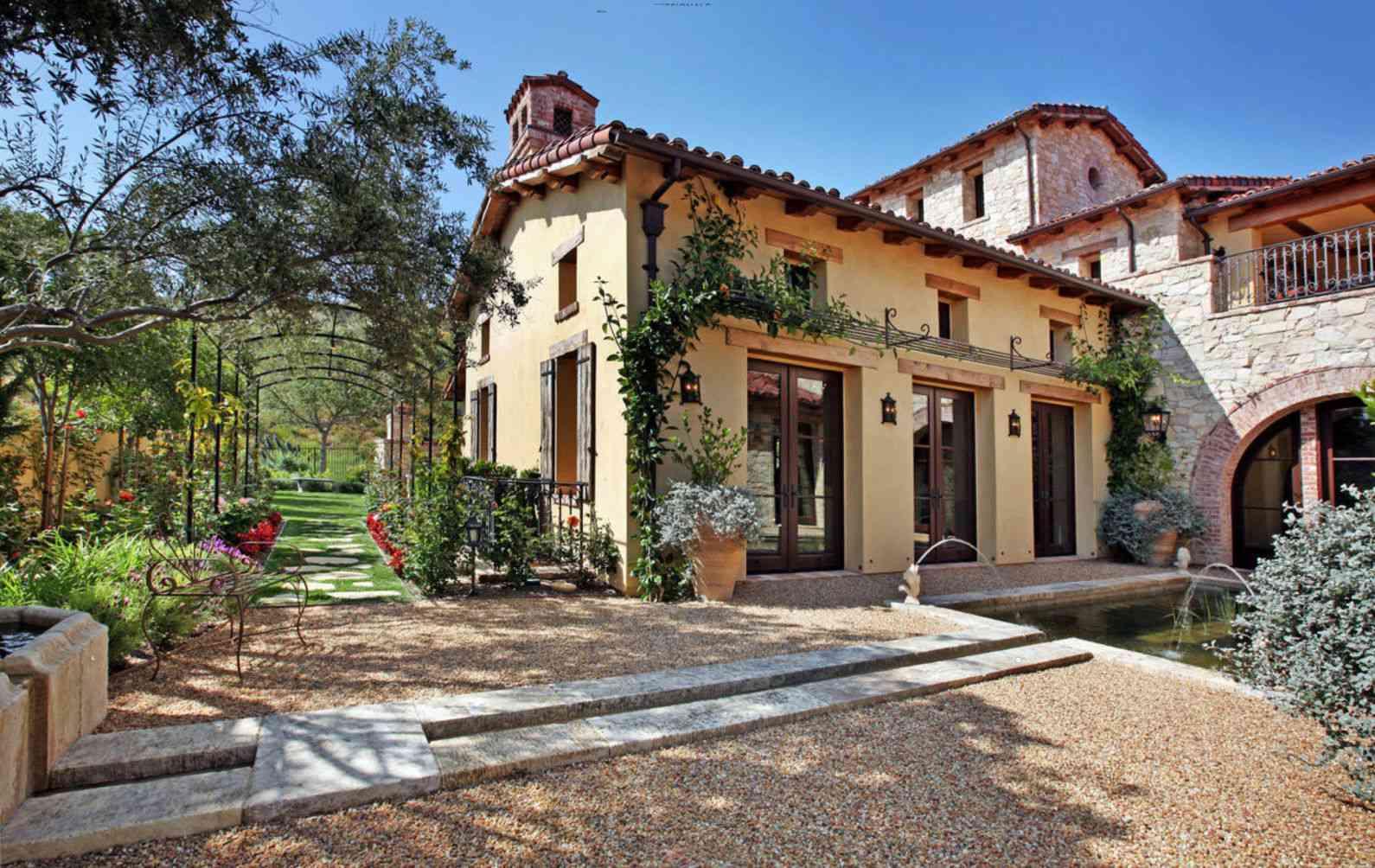 Textural Mediterranean Home Masterpiece