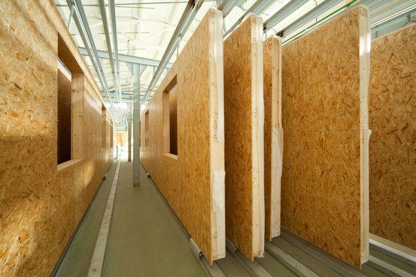 fiberboard walls
