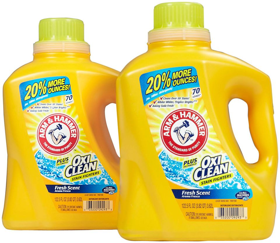 Arm Hammer Plus Oxiclean Liquid Laundry Detergent