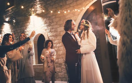 A Classic Wedding Reception Timeline