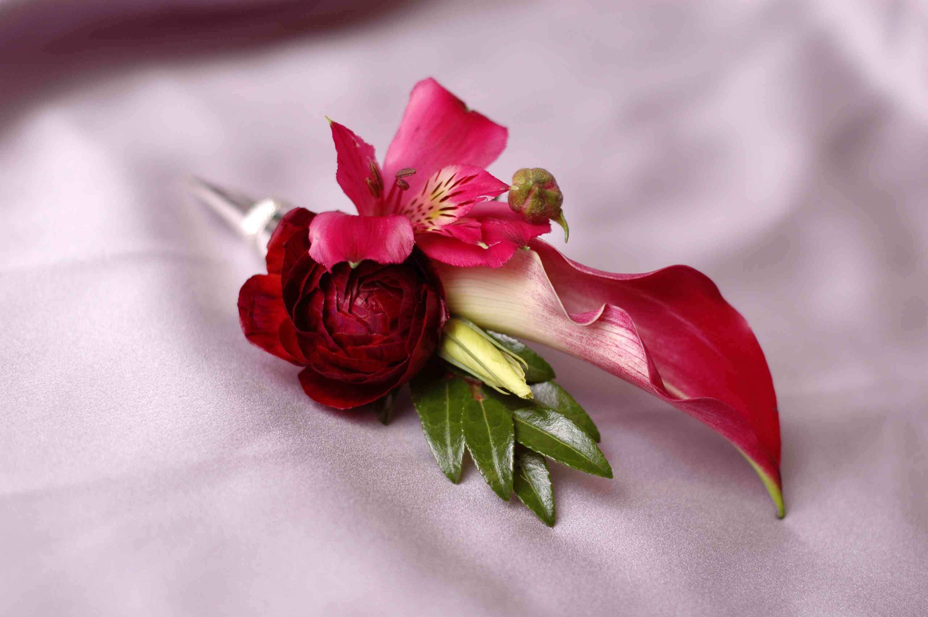 Real Wedding Boutonnieres