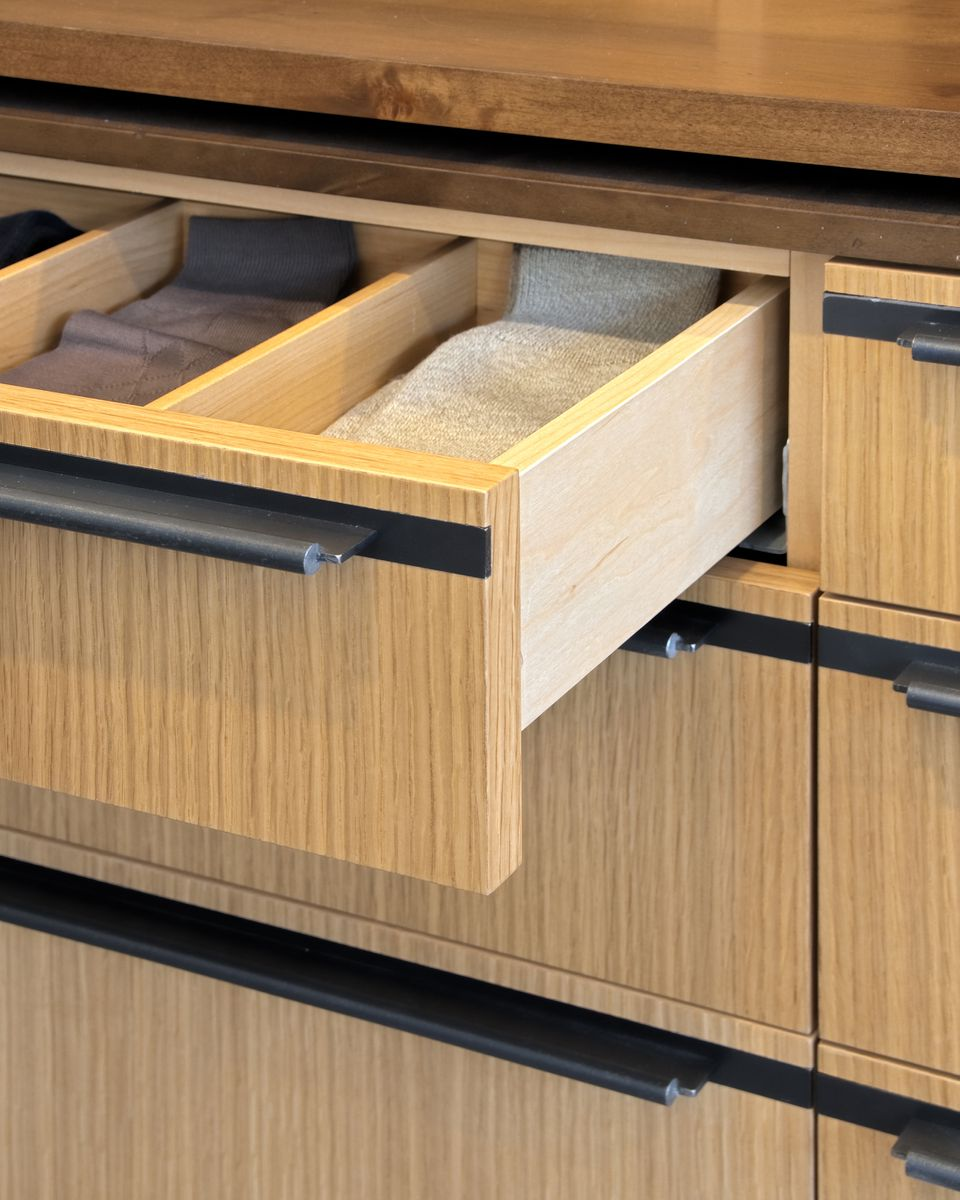 Bamboo drawers