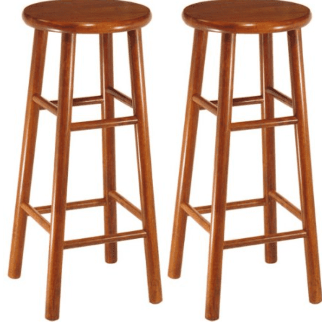 Best budget winsome wood beveled seat bar stool in cherry