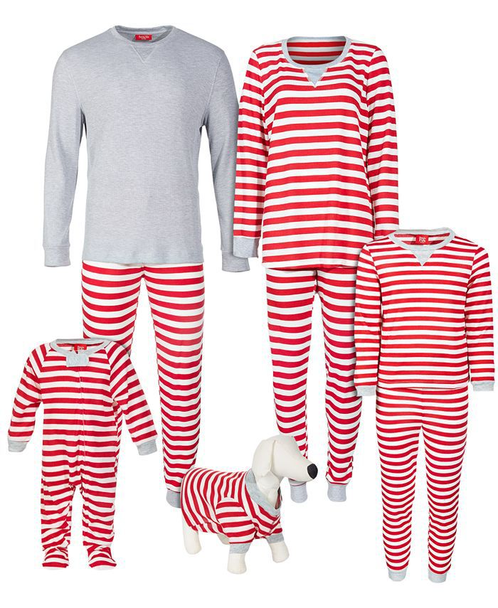 Family Pajamas Matching Striped Collection