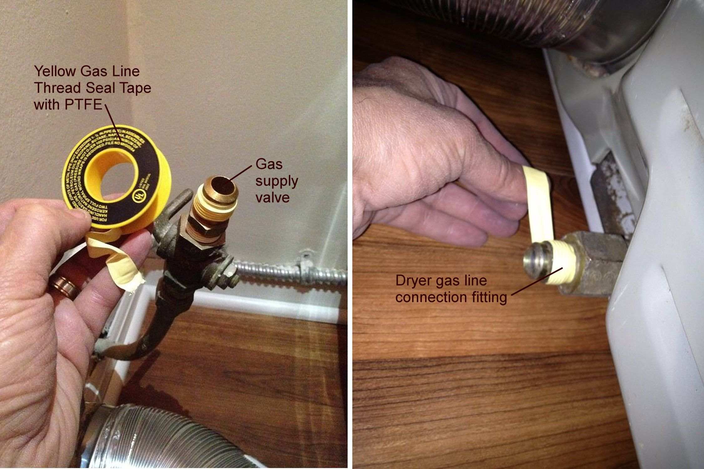 Installation Of A Dryer Vent In Tight Space Hose Diagram Besides Ge Gas Wiring Further Maytag