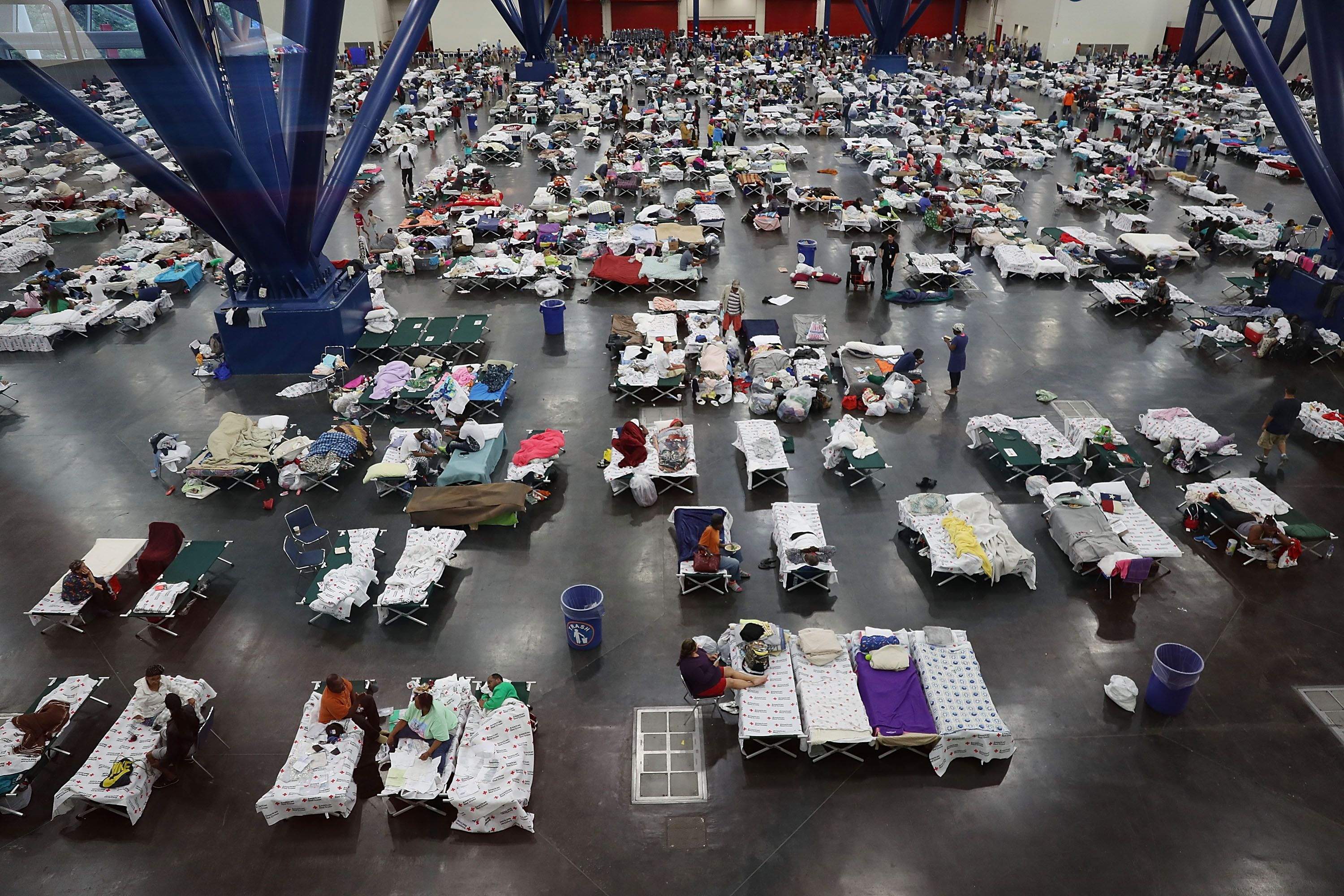 Give blood after Hurricane Florence