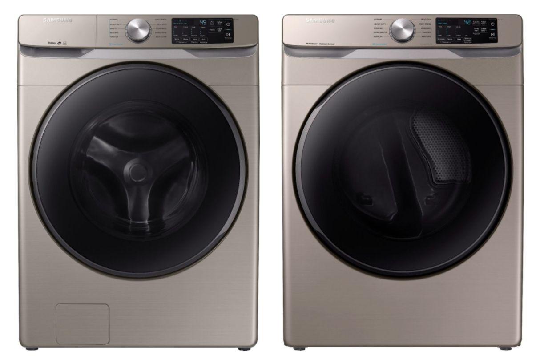 Samsung WF45R6100AC and DVE45R6100C