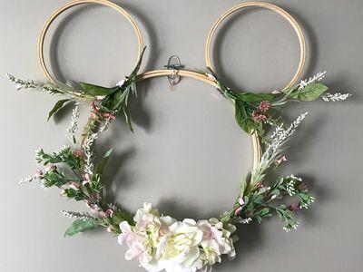 Disney Nursery Micky Hoop Wreath