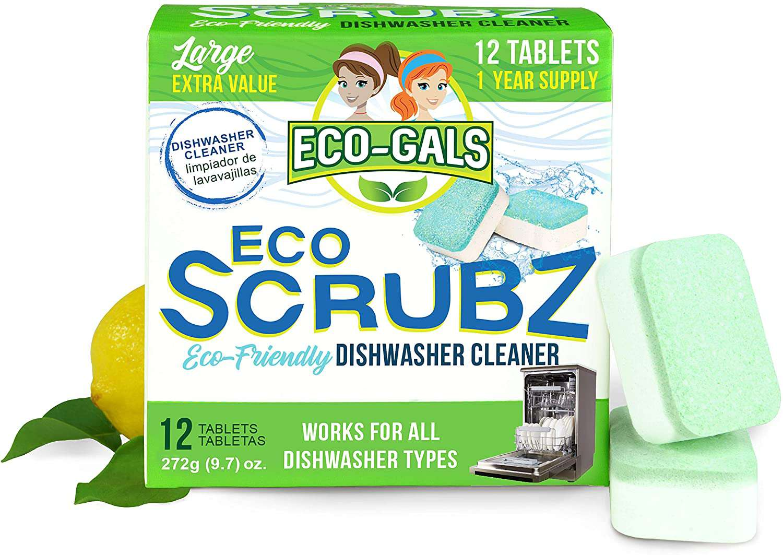 Eco-Gals Eco Scrubz Deep Dishwasher Machine Cleaner Unscented