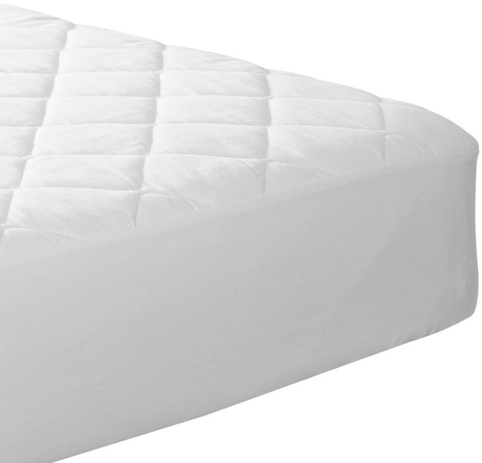 Quilted Fitted Mattress Pad (Queen) - Mattress Cover Stretches up to 16 Inches Deep - Mattress Topper by Utopia Bedding